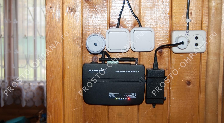 Gsm сигнализация с фото для дачи